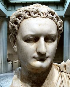 Emperor Titus Flavius Domitianus Roman statue, 90 BCE  Domitian was one of the most ruthless of the Roman emperors. He rewarded good administration, but was insecure, suspicious, and vindictive. He was assassinated by a group of court officials.