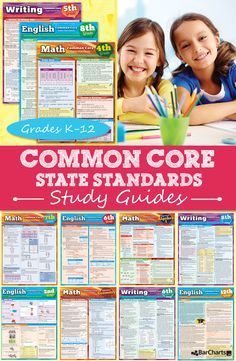 Looking for help with the Common Core? Our study guides are packed full of real-classroom problems, examples, illustrations, and more to help students retain information. They are a great overview for parents too! We also have a teacher series. #QuickStudy