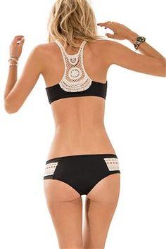L*Space's Racerback Crochet Bikini http://rstyle.me/n/hvhfmr9te