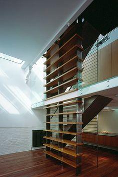 Cassland Road Hackney double hight living room