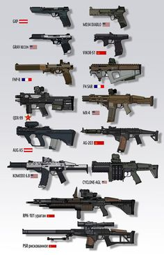 Modern 20 guns futuristic weapons watch below video Sci Fi Weapons, Concept Weapons, Fantasy Weapons, Weapons Guns, Guns And Ammo, Airsoft Guns, Future Weapons, Cool Guns, Assault Rifle