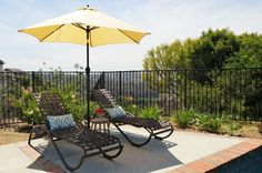 Learn how to create an inspiring outdoor space. With the weather warming up it's time to start sprucing up the backyard!