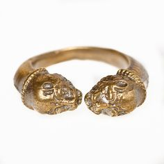 Double Headed Dog Ring $154.00