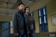 """""""Death's Door"""" - (L-R): Jensen Ackles as Dean Winchester and Jared Padalecki as Sam Winchester in SUPERNATURAL on The CW. Photo: Michael Courtney/The CW©2011 The CW Network, LLC. All Rights Reserved."""