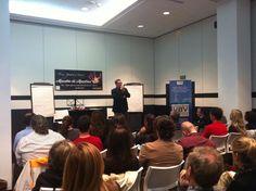 """13.11.14 Conferencia sobre las """"5 Claves Fundamentales para Transmitir y Dejar Huella en el siglo XXI"""" para Formadores.   #josepecoach #formadores #formacion #coaching"""