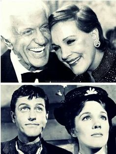 Love this picture! #JulieAndrews #DickVanDike