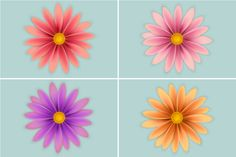 Create Simple Flowers With Gradient Mesh in Adobe Illustrator