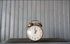 Gabriel alarm clock with double brass bells