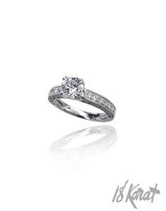 Jillian's Engagement Ring - 18Karat