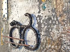 TRANSITIONS | AERIAL MARKING I, 64*80 There are over a Billion Bikes all Over the World