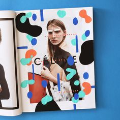Series of illustrations on Céline ad campaigns.