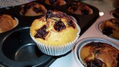 Duo muffins cu 🍒 Muffins, Cupcakes, Breakfast, Recipes, Food, Morning Coffee, Muffin, Cupcake Cakes, Recipies