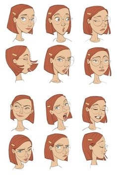 New Disney Art Drawings Sketches Character Design Facial Expressions Ideas Character Design Cartoon, Character Design References, Character Drawing, Comic Character, Character Design Animation, Character Creation, Anatomy Illustration, Illustration Vector, Character Illustration