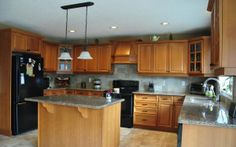 stone countertop pictures   Natural Stone CityMocha Brown Granite Countertops   Natural Stone City