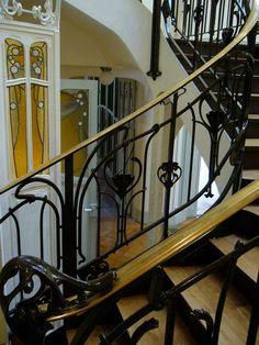 Paris 16ème - Hôtel Mezzara 60 rue de La Fontaine - Hôtel Particulier construit par Hector Guimard