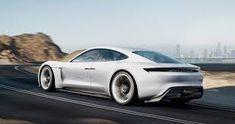 Porsche Unveils Tesla-Fighting Mission E Electric Electric Sports Car, E Electric, Electric Vehicle, Porsche Mission E, Porsche Taycan, Canada, Self Driving, Car Cleaning, Frankfurt