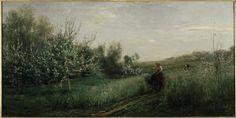 Charles-François Daubigny (French 1817–1878), Spring, 1857.