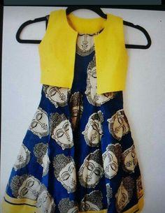 Kids Dress Wear, Kids Gown, Frocks For Girls, Little Girl Dresses, Kalamkari Designs, Kalamkari Dresses, Kids Ethnic Wear, Kids Blouse Designs, Baby Dress Design