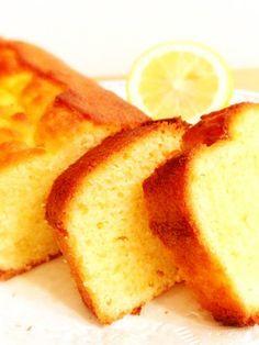 話題入り♡レモンのしっとりパウンドケーキ