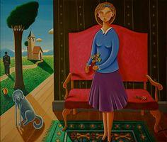 Augusto Jara pintor chileno Disney Characters, Painter, Character, Art