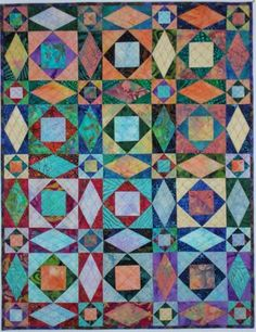 Storm at Sea Quilt Variations | KES Quilts: Storm at Sea