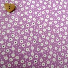 Windham Fabrics ~ Storybook Classics ~ Daisy Dots Purple