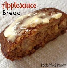 Fall Baking: Applesauce Bread!