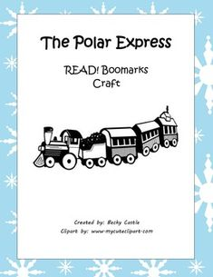 "FREE Polar Express ""READ"" Bookmarks (Printable & Craft Version) FREE! If you vote/rate this product after download, you can have one free one dollar item from my store! Just leave your email with your rating, along with your item request. Thank you!"