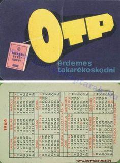 1964 - 1964_0135 - Régi magyar kártyanaptárak