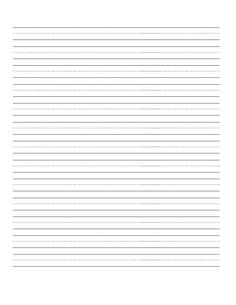 dashed line handwriting practice paper printable worksheet for primary school kids home. Black Bedroom Furniture Sets. Home Design Ideas