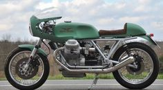 Moto Guzzi Cafe Racer - Cafe Racer Culture