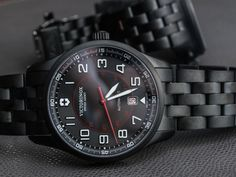 Victorinox Swiss Army Airboss Mechanical Black Edition Watch On Bracelet Follow-Up Review