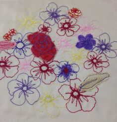 BTEC fashion and clothing: Unit Surface pattern and design. Sewing Machines, Surface Pattern, Applique, Stitch, Drawings, Clothing, Projects, Design, Fashion