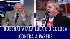 Boechat ataca Lula e o coloca contra a parede; veja vídeo
