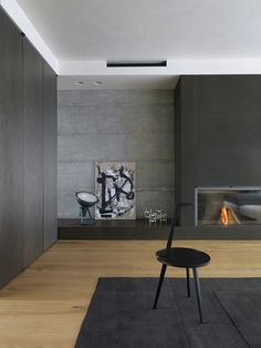 home furniture – My WordPress Website Minimalist Fireplace, Modern Fireplace, Living Room With Fireplace, Fireplace Design, Linear Fireplace, Living Tv, My Living Room, Living Room Decor, Cozy Living