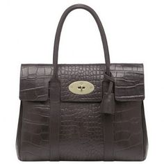 Cute Mulberry Bayswater Printed Leather Chocolate Bag £166.38 go to http://www.mulberryoutletyork.me.uk