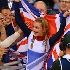 Laura Trott celebrates her victory in the omnium and her second gold medal of the Games in the velodrome. Live Picture, Picture Blog, Team Gb 2012, Victoria Pendleton, Queen Vic, Track Team, Track Cycling, Olympic Gold Medals, Best Track