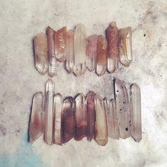 Little clutch of lithium phantom quartz