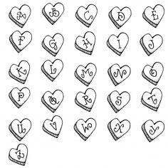 sweet-hearts-alphabet.jpg (615×615)