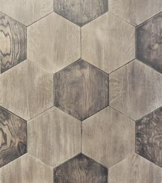 Hexagon French Oak parquet.