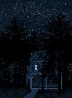 Tom Biskup can this sky really be real? Nocturne, Et Tattoo, Arte Horror, Aesthetic Art, Night Skies, Dark Art, Art Inspo, Fantasy Art, Art Photography