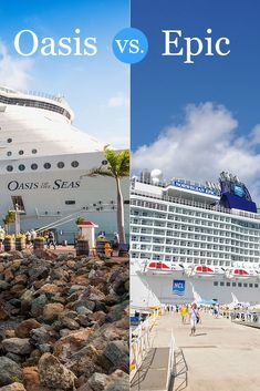 Oasis of the Seas vs. Norwegian Epic | Go Port Canaveral