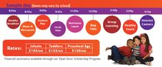 YMCA PreSchool Child Care - YMCA of Greater San Antonio Financial Assistance, Social Media Branding, Toddler Preschool, Childcare, San Antonio, Flyer Design, Marketing, Learning, Image