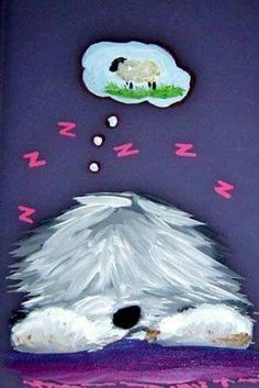 Puli Dog Breed, Dog Breeds, Chien Bobtail, Bearded Collie, Pets 3, Raining Cats And Dogs, Fluffy Dogs, Old English Sheepdog, Dog Paintings