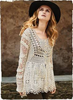 A wearable work of art, our insouciant pima cardigan draws inspiration from Victorian lacework. Exquisitely handcrocheted by Peruvian artisans in a panoply of c Pull Crochet, Gilet Crochet, Crochet Shirt, Crochet Jacket, Crochet Cardigan, Knit Or Crochet, Irish Crochet, Cotton Cardigan, Beautiful Crochet