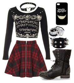 """""""Untitled #714"""" by xkitten-pokerx ❤ liked on Polyvore featuring Oh My"""