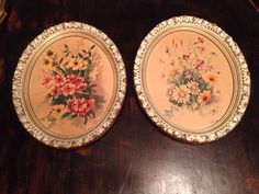 A personal favorite from my Etsy shop https://www.etsy.com/listing/226877465/oval-frames-set-of-2-riasni-florals