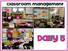 Classroom management during Daily 5!