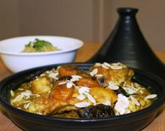 Moroccan Chicken & Prune Tagine