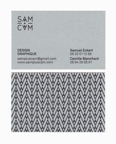 SAM+CAM Identity and Stationery